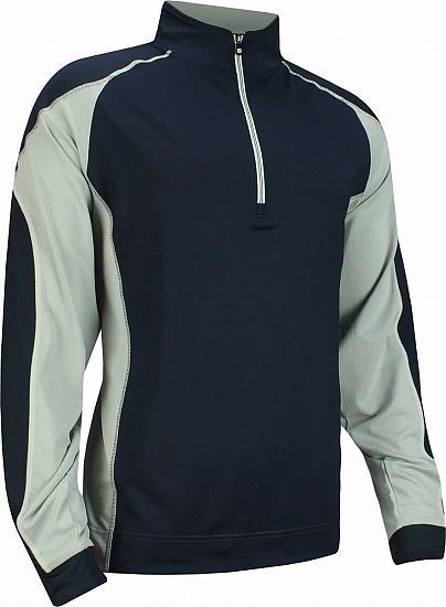 cc02251607512 FootJoy Mixed Texture Half-Zip Golf Pullovers - FJ Tour Logo Available - Previous  Season Style