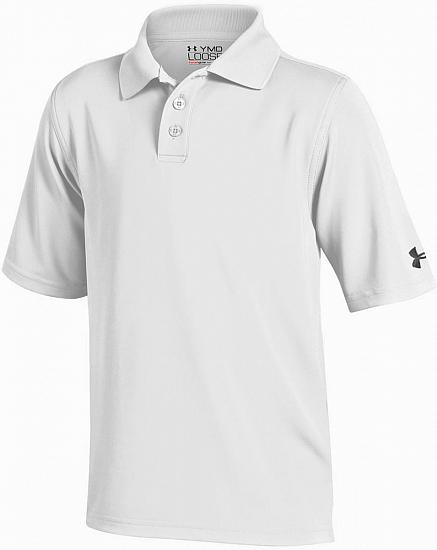 Under Armour Performance Solid Junior Golf Shirts - ON SALE