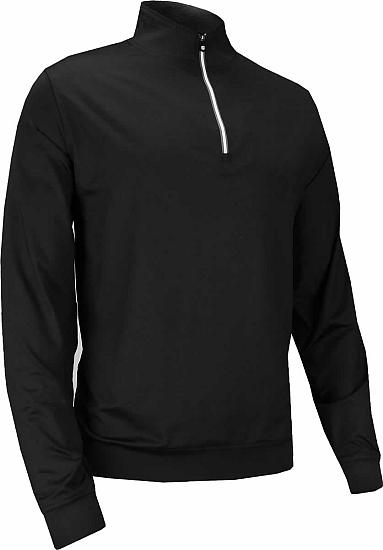 FootJoy Performance Half-Zip Golf Pullovers with Gathered Waist - FJ Tour Logo Available
