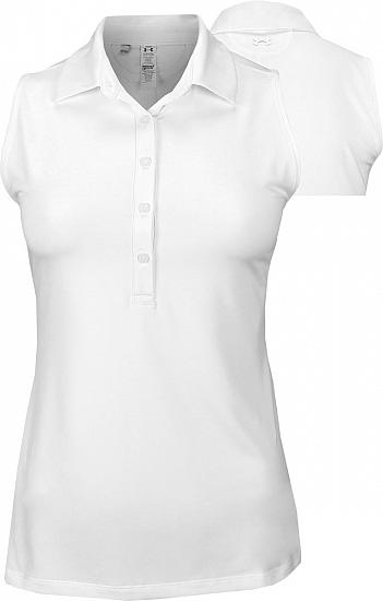 Under Armour Women's Zinger Heather Sleeveless Golf Shirts - ON SALE