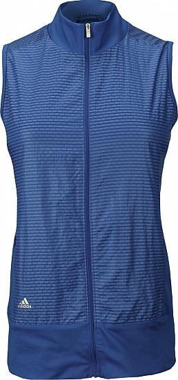 e86e7da7e28cd Adidas Women s Technical Lightweight Full-Zip Golf Wind Vests - ON SALE