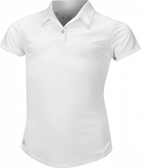 ec768f2bb Adidas Girl's Performance Junior Golf Shirts - ON SALE