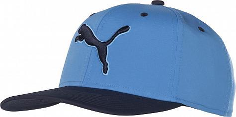 New Puma Cat Logo Baseball DryFit Cap Hat Snapback