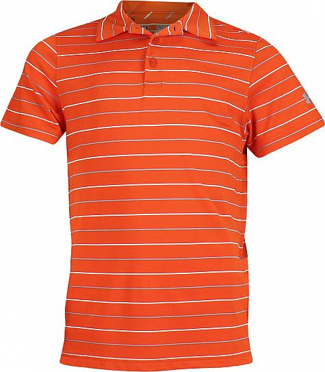 Under Armour Performance Stripe 2.0 Junior Golf Shirts - ON SALE