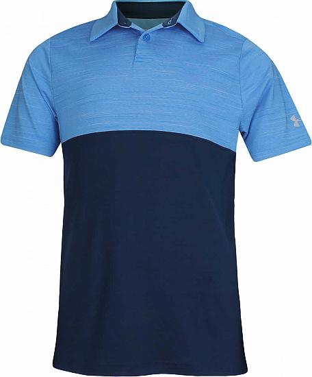 Under Armour Blocked Junior Golf Shirts - ON SALE