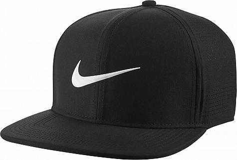 6adc619d094 Nike Aerobill Pro Flat Bill Snapback Adjustable Golf Hats