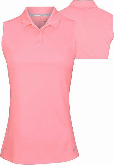 8ed8cbc4f5854b Nike Women s Dri-FIT Victory Sleeveless Golf Shirts - ON SALE