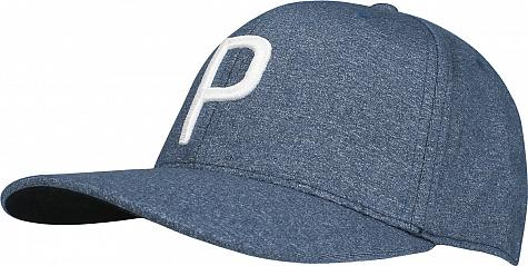 e2199b47 Puma P Snapback Adjustable Golf Hats