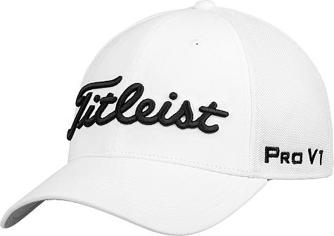 5030065caed70 Titleist Tour Sports Mesh Flex Fit Golf Hats
