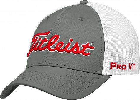 b16fb00fa85 Titleist Tour Sports Mesh Flex Fit Golf Hats - ON SALE