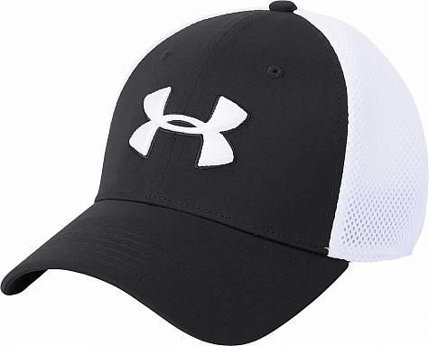 83e7878aa6597 Under Armour Classic Mesh Flex Fit Golf Hats