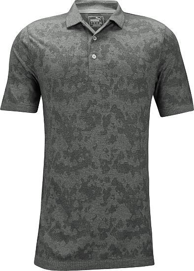 33103dc9d4b Puma Evoknit Camo Golf Shirts - Quiet Shade