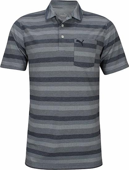 6b3ec1c3ae7e Puma DryCELL Local Pro Golf Shirts - Peacoat
