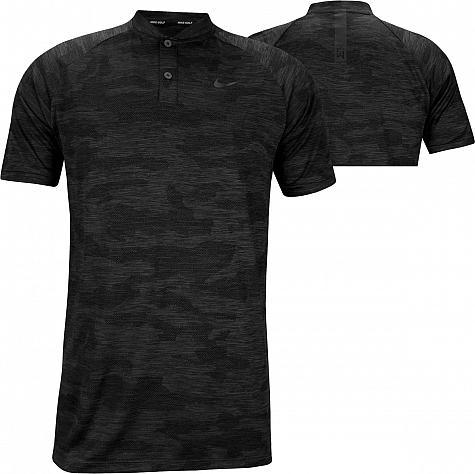 047ff151e9 Nike Dri-FIT Tiger Woods Zonal Cooling Vapor Camo Blade Collar Golf Shirts
