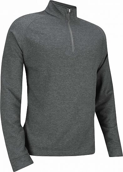 Dunning Natural Hand Quarter-Zip Golf Pullovers - ON SALE