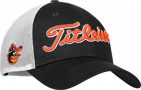 b109d3cee Titleist Major League Baseball Mesh Snapback Adjustable Golf Hats - ON SALE