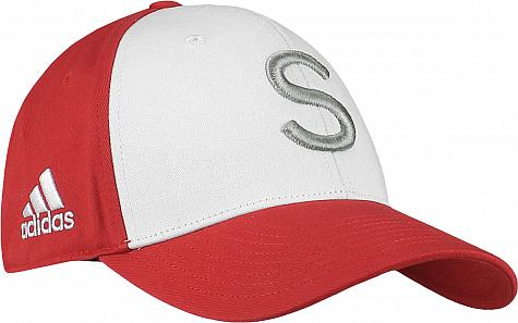 3df75de285e Adidas  Your Initial  Colorblock Adjustable Personalized Golf Hats
