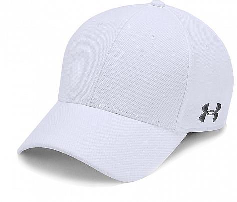 19f8ae3264397 Under Armour Blitzing Flex Fit Custom Golf Hats