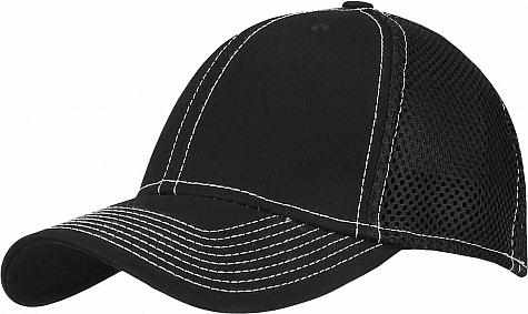 New Era Stretch Mesh Contrast Stitch Flex Fit Custom Golf Hats