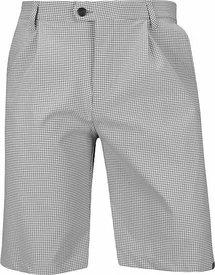 ff8421d8 Ultimate 365 Gingham Plaid Pleated Golf Shorts