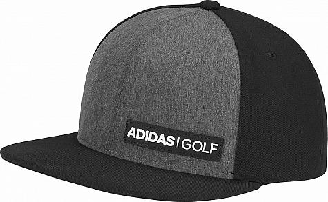 38a41cbe011 Adidas Heather Flat Bill Snapback Adjustable Golf Hats