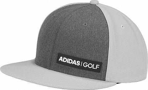 0bb35a90 Adidas Heather Flat Bill Snapback Adjustable Golf Hats
