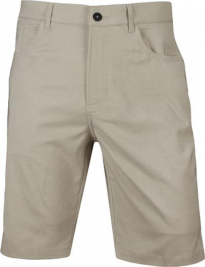 Dunning Pro Heathered 5-Pocket Golf Shorts