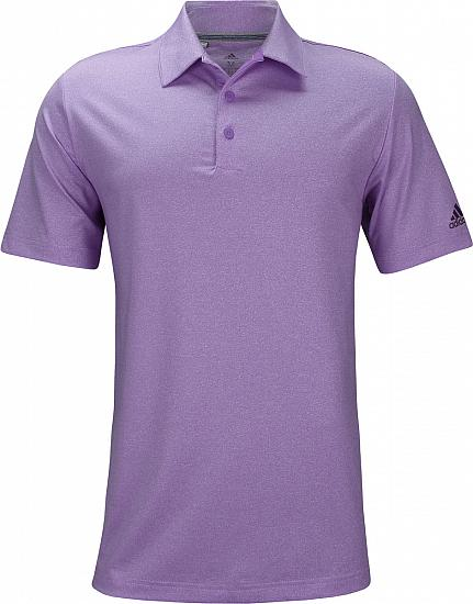 Adidas Ultimate 365 Heather Golf Shirts - Big and Tall - ON SALE