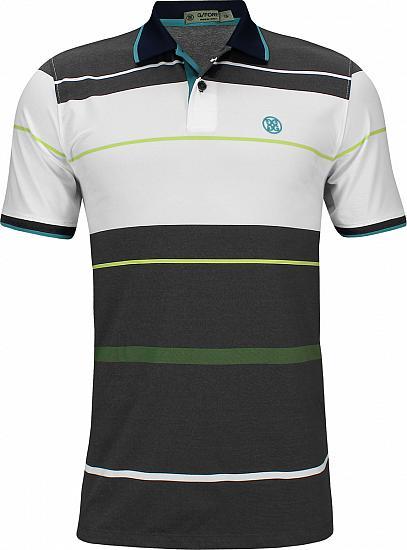 5cc23028 G/Fore Block Stripe Golf Shirts