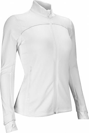 Adidas Women's Go-To Adapt Full-Zip Golf Jackets - ON SALE