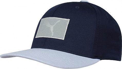 664256d5 Puma Utility Patch 110 Snapback Adjustable Golf Hats - Play Loose Collection