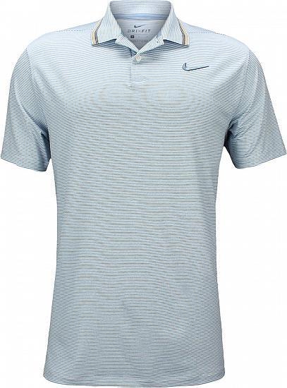 a61122294 Nike Dri-FIT Vapor Control Golf Shirts - Indigo Fog