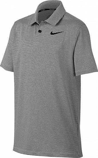 c4a76f0bfa Nike Dri-FIT Control Stripe Junior Golf Shirts