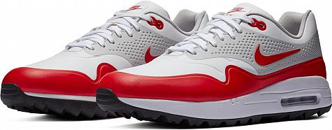 brand new 00e9c 92df1 Nike Air Max 1 OG Spikeless Golf Shoes - White Red