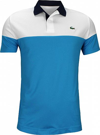 100% autentisk køb online størrelse 40 Color Blocked Golf Shirts - Pratensis Blue