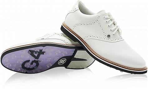 G/Fore Patent Leather Saddle Gallivanter Spikeless Golf Shoes - ON SALE