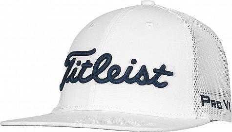 Titleist Tour Flat Bill Mesh Snapback Adjustable Golf Hats c3ef285a414