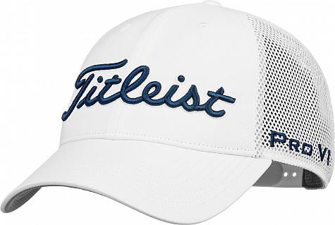 Titleist Tour Performance Mesh Snapback Adjustable Golf Hats bd68439dfc8