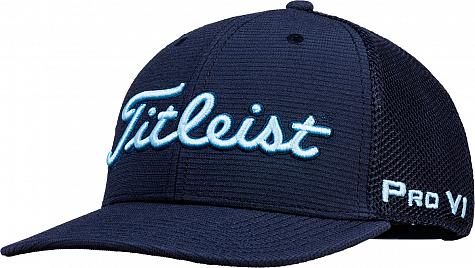 047b1c84999 Titleist Tour Snapback Mesh Collection Adjustable Golf Hats