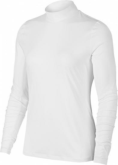 8fd8fce17 Nike Women's Dri-FIT UV Long Sleeve Golf Mocks