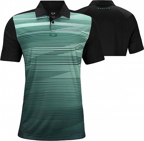 16b42bf1 Oakley Ace Golf Shirts - Blackout