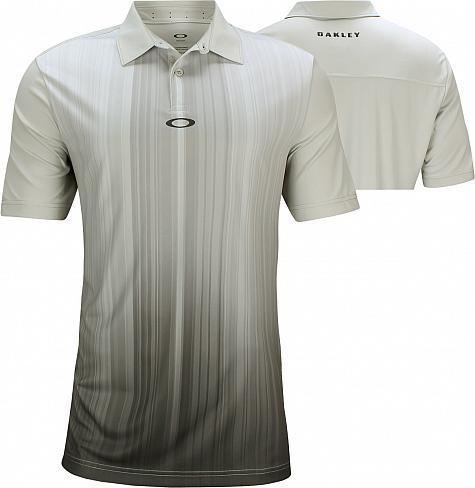 5c8b0b7a8b039 Oakley Infinity Line Golf Shirts - Light Grey