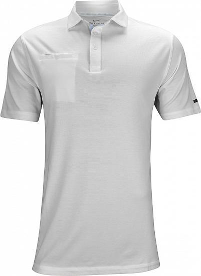 edf1f72e4 Nike Dri-FIT Player Golf Shirts - White - Rory McIlroy PGA Championship  Saturday