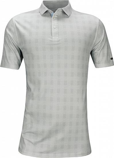 c18543311 Dri-FIT Player Plaid Golf Shirts - Wolf Grey