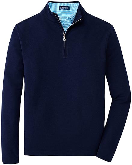 Peter Millar Crown Crafted Ace Quarter-Zip Golf Pullovers - Tour Fit