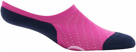 G/Fore Circle G's No Show Women's Golf Socks - Single Pairs - Flamingo