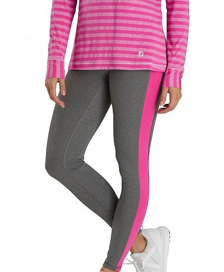 FootJoy Women's Ankle Side Panel Golf Leggings - Previous Season Style
