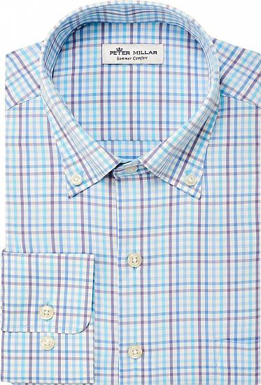 Peter Millar Oliver Multi Check Sport Woven Performance Button-Downs