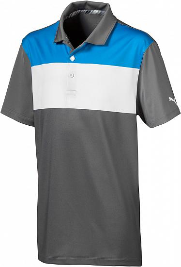 the latest quality design new design Puma Nineties Junior Golf Shirts