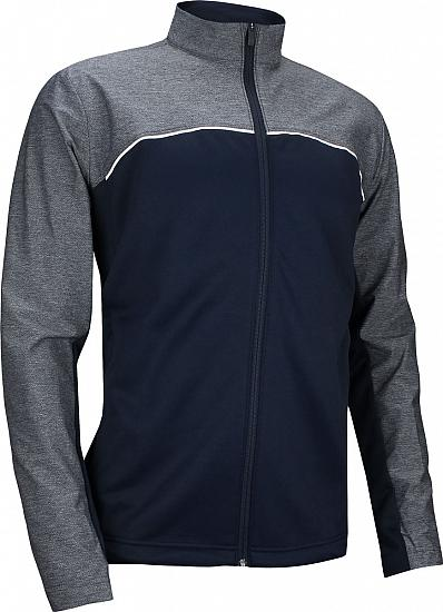 Adidas Go-To Full-Zip Golf Jackets - ON SALE